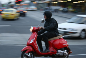 Scooters are safer than mopeds and motorcycles