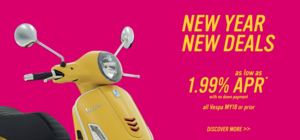 New Year, New Deals 2018 Vespa Orlando