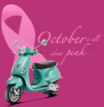 October is Breast Cancer Awareness Month for Vespa Orlando
