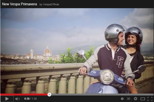 Vespa Primavera Video